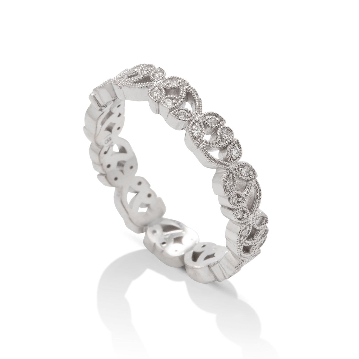 Floral Eternity Band - Charles Koll Jewellers