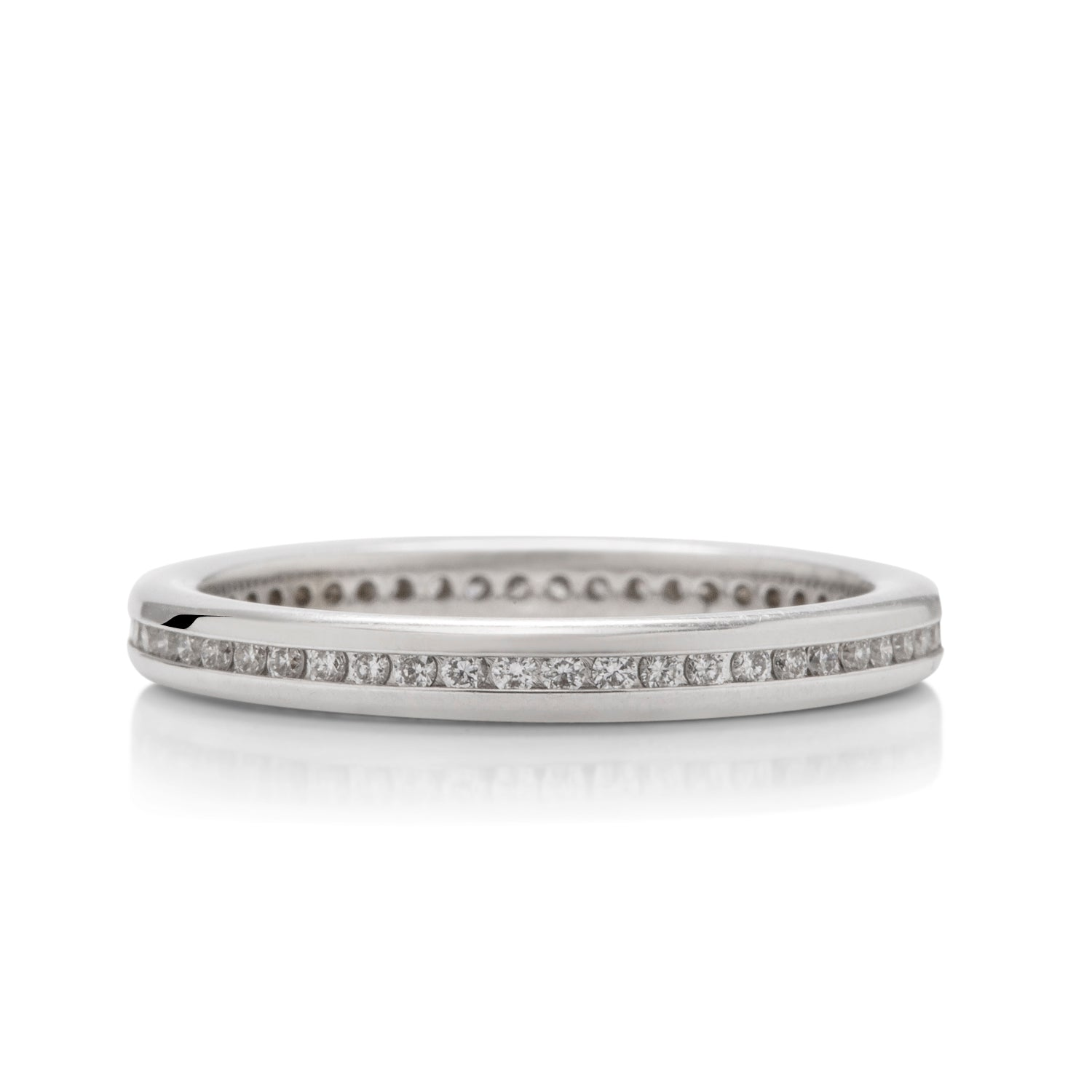 0.25 CTW Channel Set Wedding Band - Charles Koll Jewellers