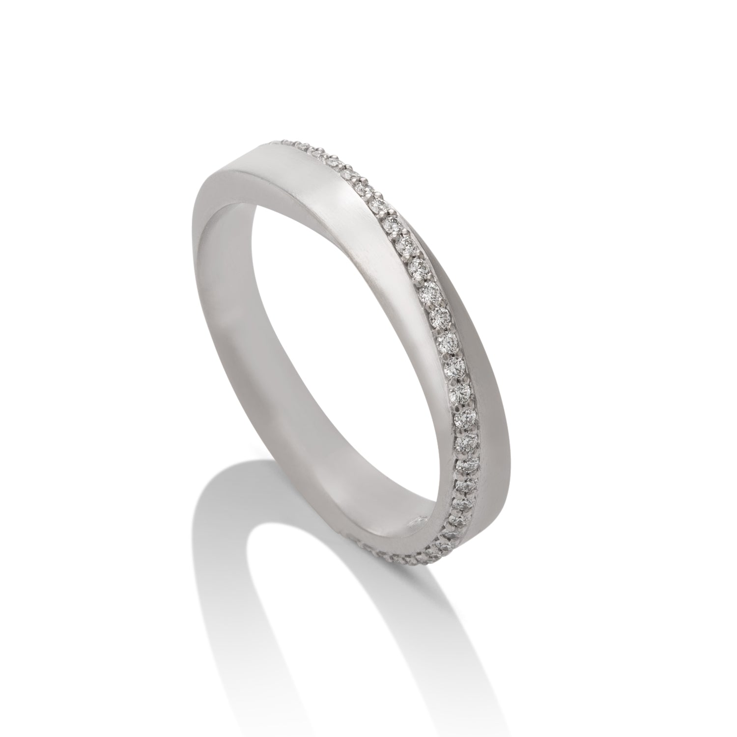 Diamond Mobius Women's Band - Charles Koll Jewellers