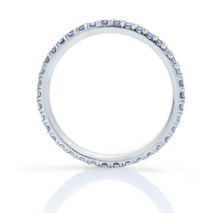 Tanzanite Eternity Band - Charles Koll Jewellers
