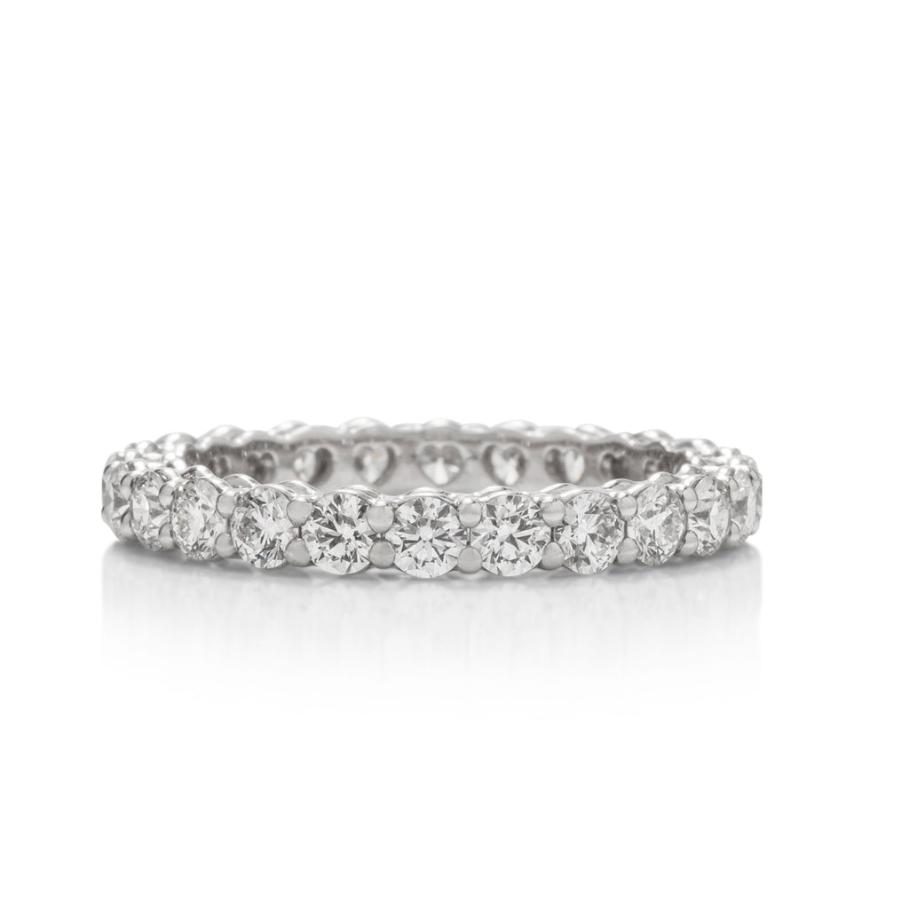 HOF Platinum and Diamond Eternity Band - Charles Koll Jewellers