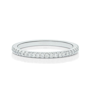 Scallop Split Prong Eternity Band - Charles Koll Jewellers