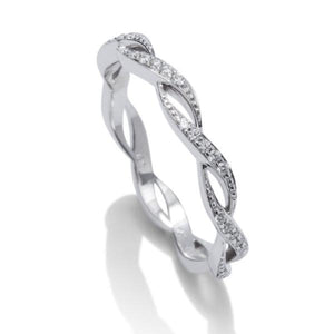 Dainty Weave Wedding Band - Charles Koll Jewellers