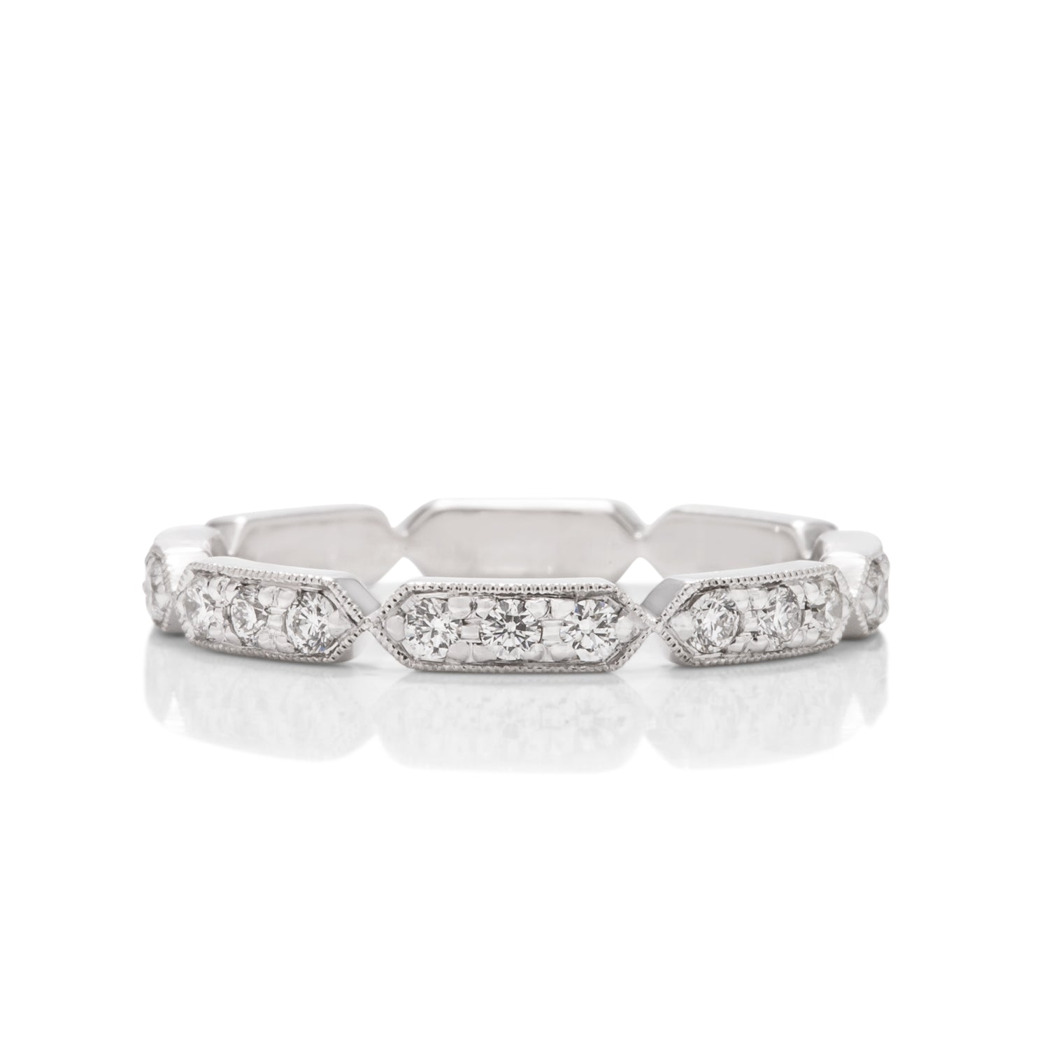 Diamond Wedding Band - Charles Koll Jewellers