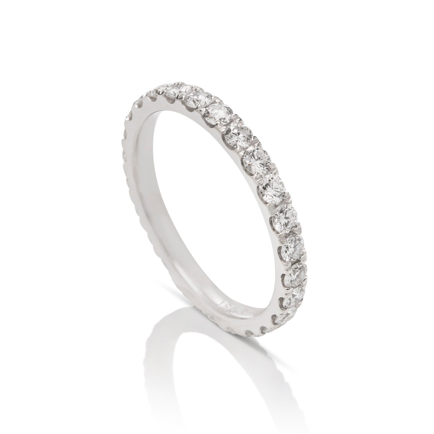 0.95 ctw White Gold Diamond Eternity Band - Charles Koll Jewellers