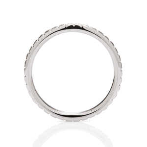 0.54ctw Diamond White Gold Eternity Band - Charles Koll Jewellers