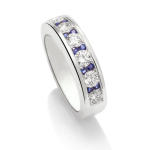 Seamless with Sapphires - Charles Koll Jewellers