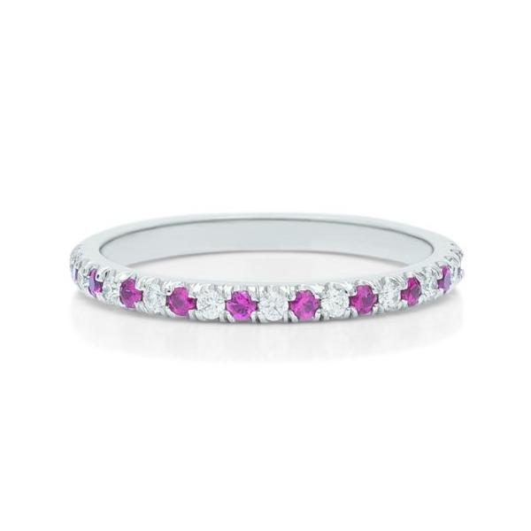 Diamond and Ruby Anniversary Band - Charles Koll Jewellers