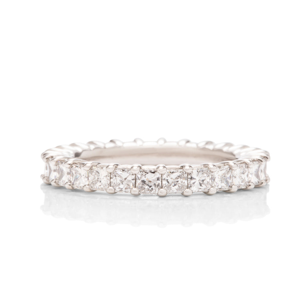 Square Radiant Diamond Eternity Band - Charles Koll Jewellers