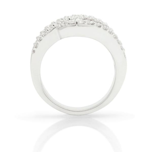 Round and Baguette Cocktail Ring - Charles Koll Jewellers