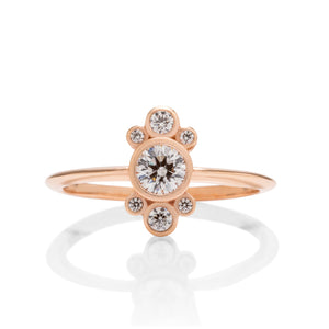 18k Rose Gold Diamond Ring - Charles Koll Jewellers