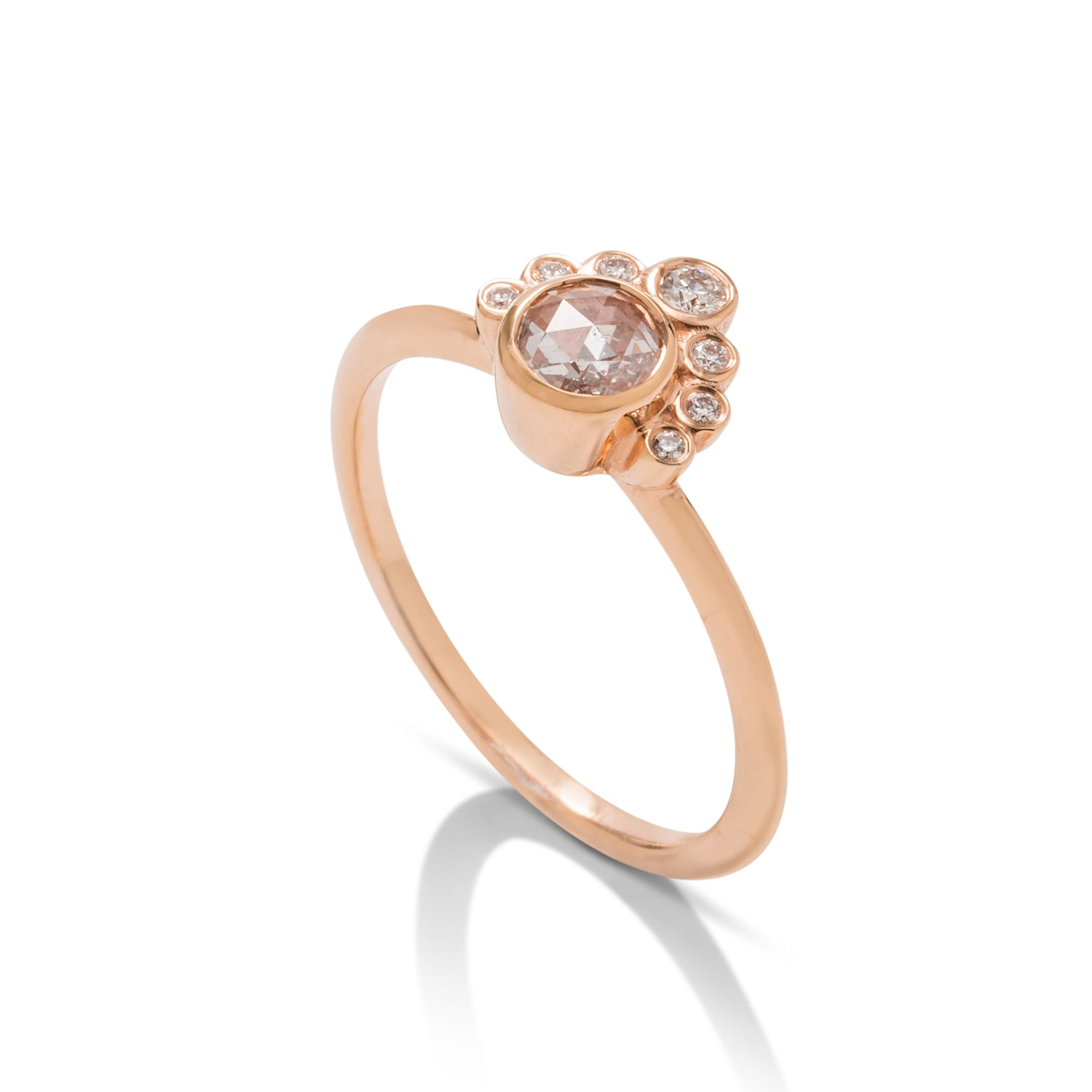 Rose Cut Coco Ring - Charles Koll Jewellers