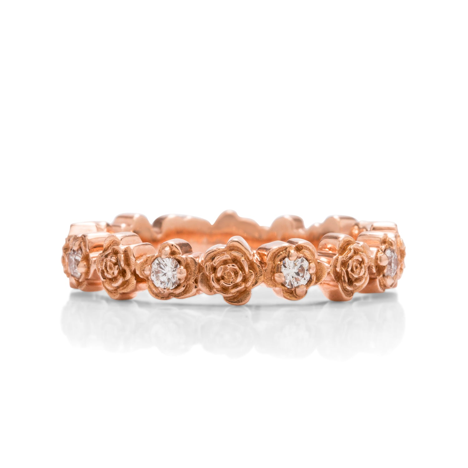 18k Rose Gold Ring - Charles Koll Jewellers