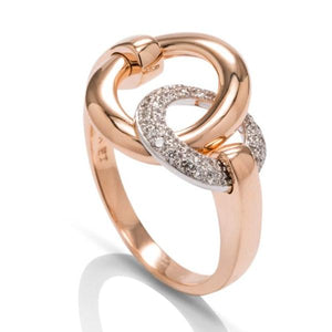 Diamond Circle Ring - Charles Koll Jewellers