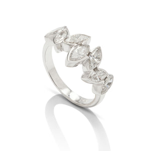 Marquise Bezel Set Band - Charles Koll Jewellers