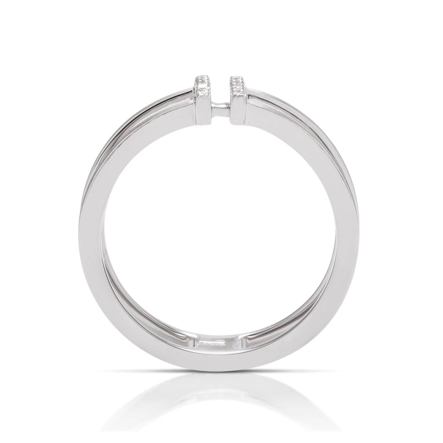 Diamond Bar Ring - Charles Koll Jewellers