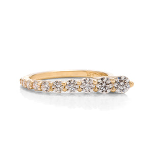 Asymmetrical Diamond Ring - Charles Koll Jewellers