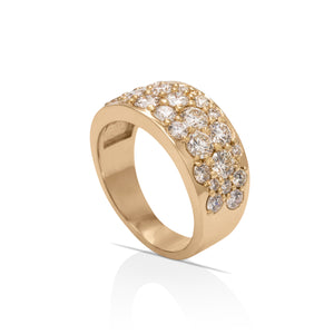 Stingray Pave 28 Diamond Ring
