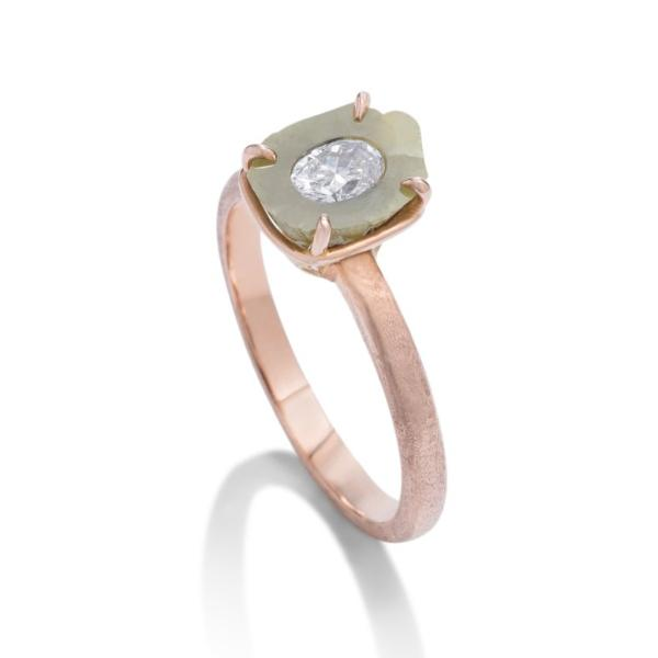 Rough Diamond Ring - Charles Koll Jewellers