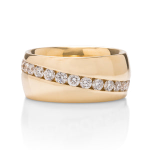 Men's Diamond Band - Charles Koll Jewellers