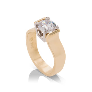 JFA Design Two-Tone Mounting - Charles Koll Jewellers