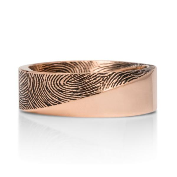 Fingerprint Mobius Band - Charles Koll Jewellers