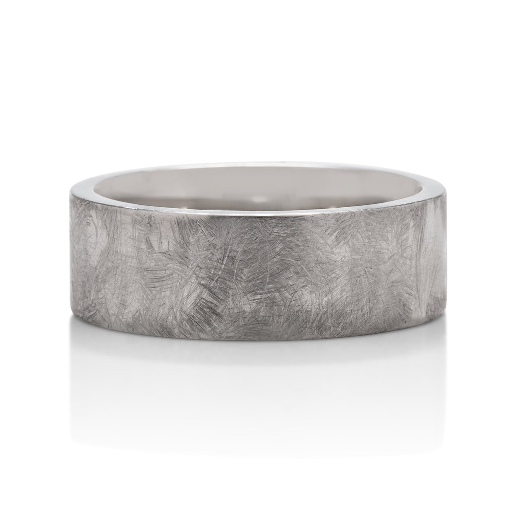 Brush Finish Men's Band - Charles Koll Jewellers