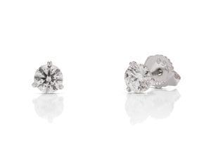 Hearts on Fire Diamond Studs - Charles Koll Jewellers