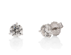 2.02 ctw Diamond Stud Earrings - Charles Koll Jewellers