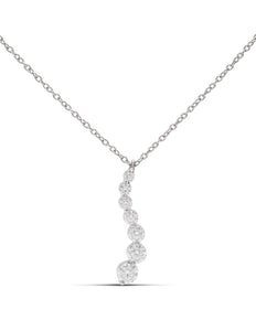 Diamond Journey Pendant - Charles Koll Jewellers