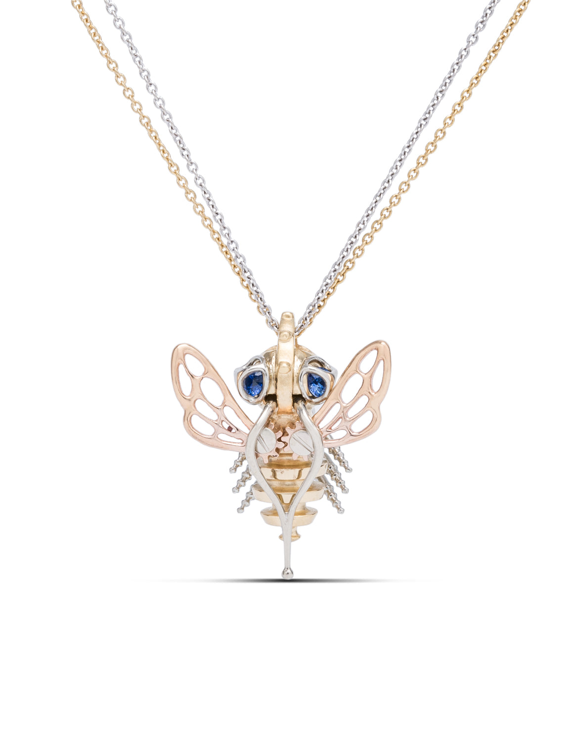 Steam Punk Bee Pendant - Charles Koll Jewellers