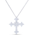 Diamond Cross Pendant - Charles Koll Jewellers