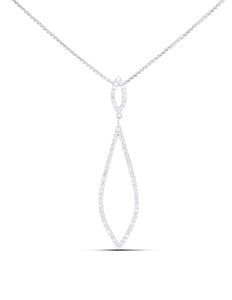 Diamond Drop Pendant - Charles Koll Jewellers