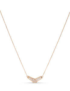 Fancy Shape Diamond Necklace - Charles Koll Jewellers