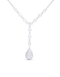 Diamond Droplet Pendant - Charles Koll Jewellers