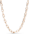Rose Gold With Single Diamond Accent Necklace - Charles Koll Jewellers
