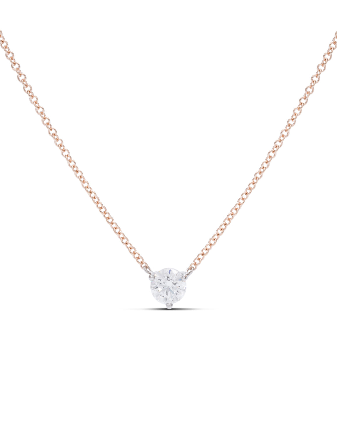Hearts On Fire Signature Solitaire Pendant - Charles Koll Jewellers