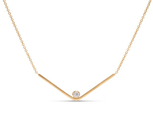 18k Gold Diamond Necklace - Charles Koll Jewellers