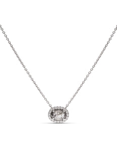 18k White Gold Diamond Necklace - Charles Koll Jewellers