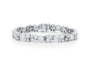 Diamond Bubble Tennis Bracelet - Charles Koll Jewellers