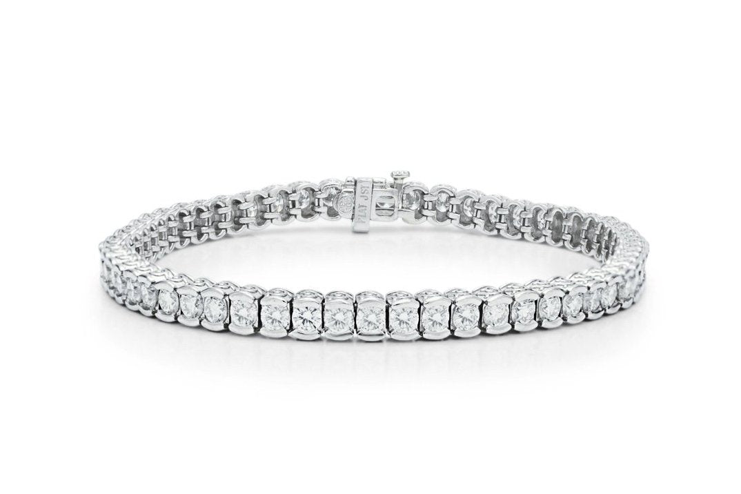 5.70 ct Diamond Tennis Bracelet - Charles Koll Jewellers
