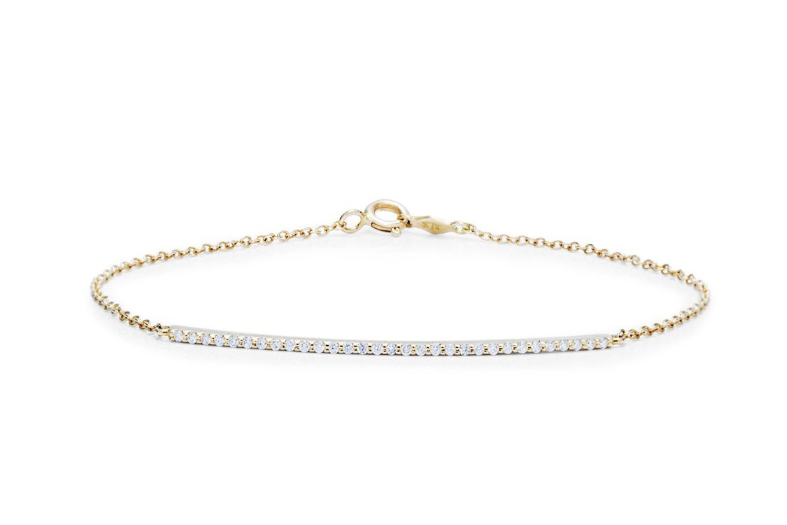 Diamond Bar Bracelet - Charles Koll Jewellers