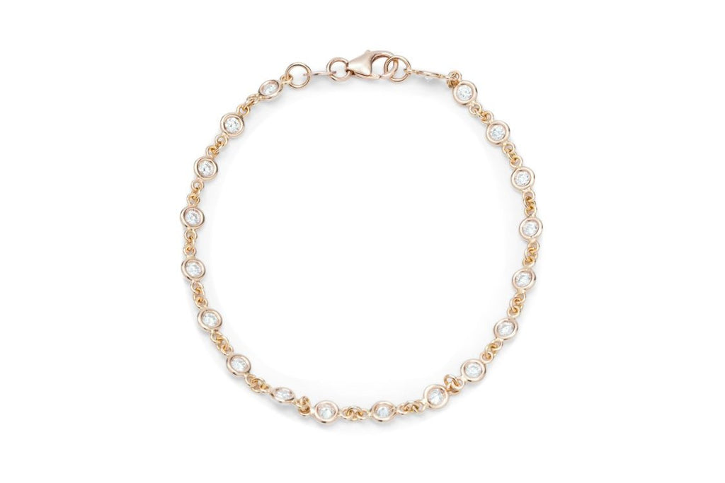 Rose Gold and Diamond Bracelet - Charles Koll Jewellers