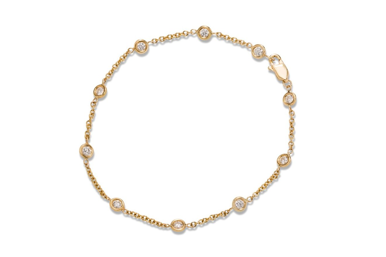 18k Gold Diamond Bracelet - Charles Koll Jewellers