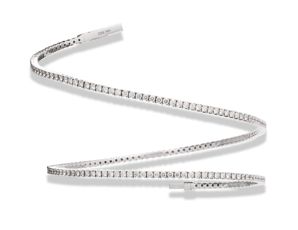 Diamond Wrap Bracelet - Charles Koll Jewellers