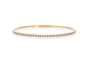 Flex Diamond Bracelet in Yellow - Charles Koll Jewellers