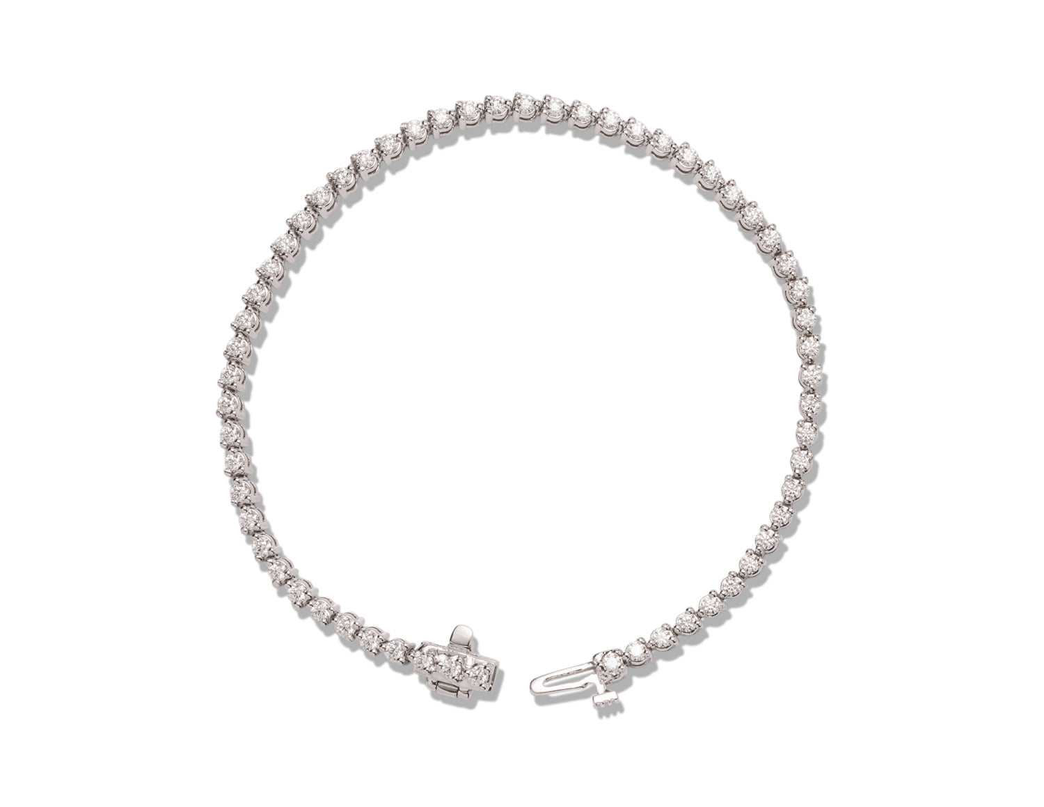 1.90 ctw Diamond Bracelet in Platinum - Charles Koll Jewellers