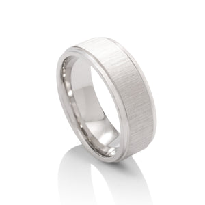 Cross Satin Men's Band - Charles Koll Jewellers