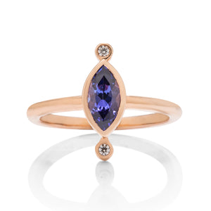 Tanzanite Sidney Ring - Charles Koll Jewellers