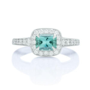 Tourmaline and Diamond Ring - Charles Koll Jewellers